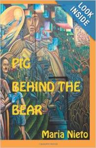 maria nieto pig behind the bear