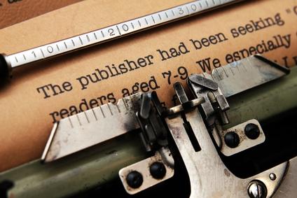 old typewriter published