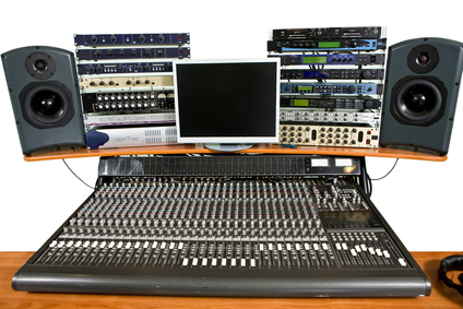 Studio recording equipment