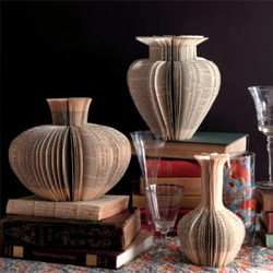 paper-vases-made-from-old-books